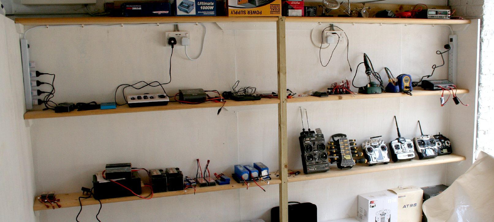 Batteries Power Dischargers Charging Station Balancing Lipo Lithium Experiments Seavax