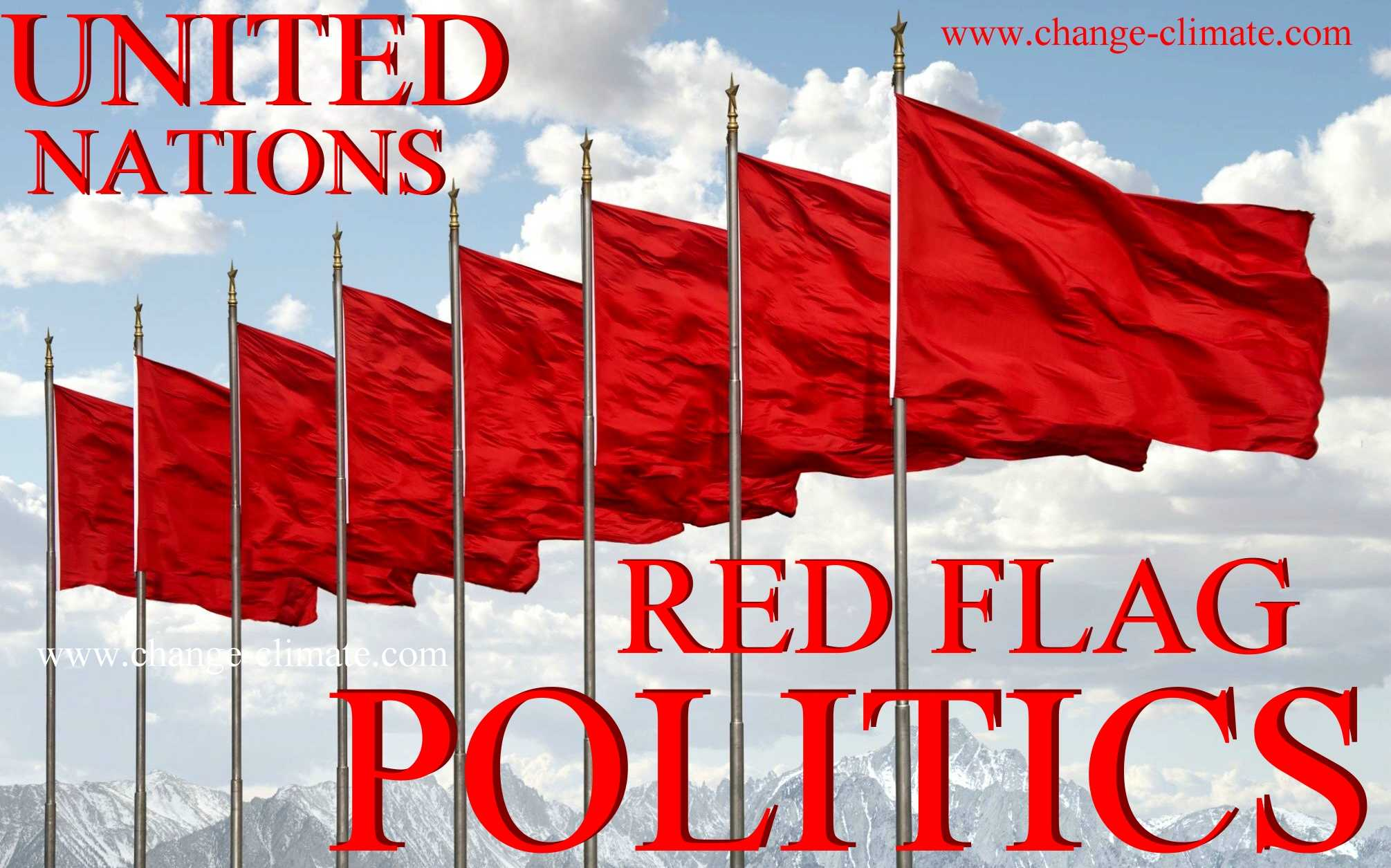 Red flag corruption in politics and policy making