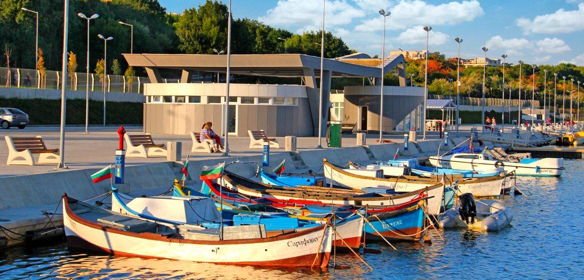 Eu Burgas Bulgaria European Maritime Day 31 June 1 May