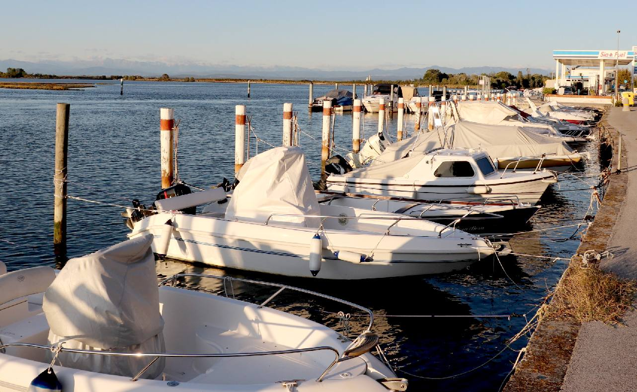 Grado marina lagoon Adriatic Sea port and popular holiday destination