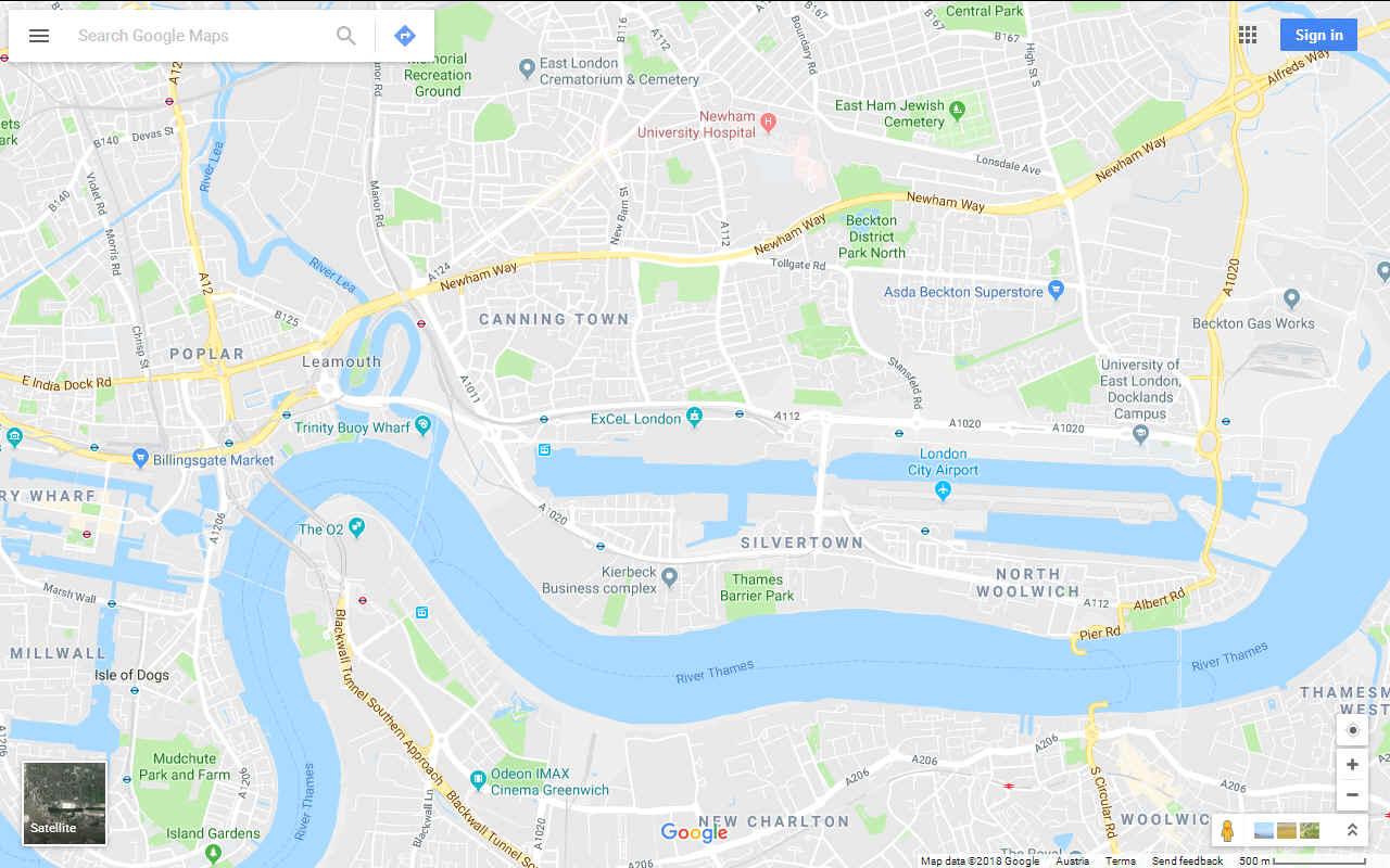 Excel London Map.Bound 4 Blue Oceanology International 2018 Excel London