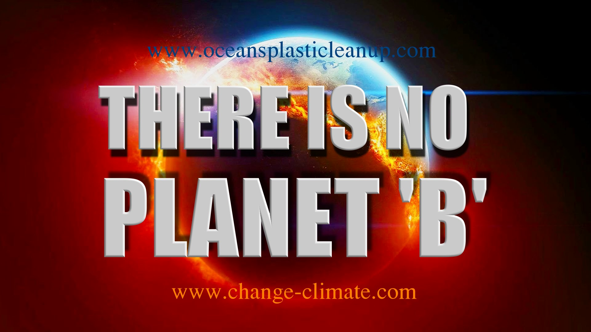 There is no planet B at the moment, so keep dreaming and perish or act to save what we have
