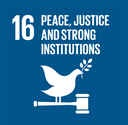 Justice and institutional integrity for peace SDG 16