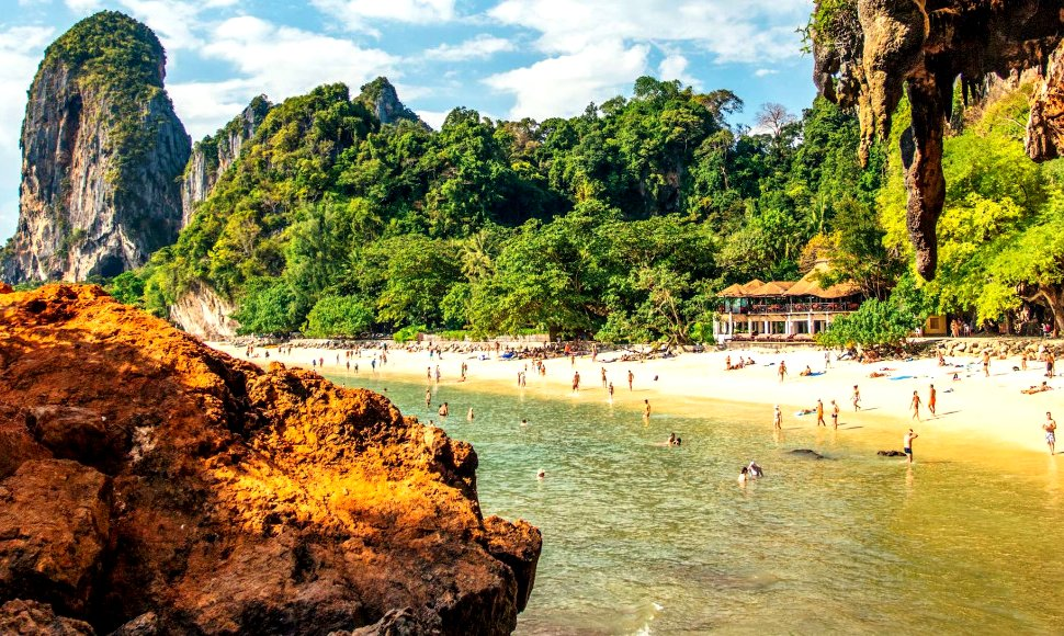 Thailand coastal tourism holiday destination